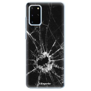 Plastové pouzdro iSaprio - Broken Glass 10 na mobil Samsung Galaxy S20 Plus