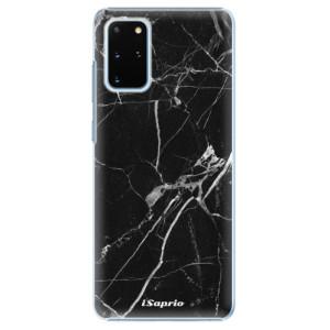 Plastové pouzdro iSaprio - Black Marble 18 na mobil Samsung Galaxy S20 Plus