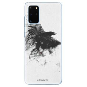 Plastové pouzdro iSaprio - Dark Bird 01 na mobil Samsung Galaxy S20 Plus