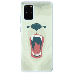 Plastové pouzdro iSaprio - Angry Bear na mobil Samsung Galaxy S20 Plus