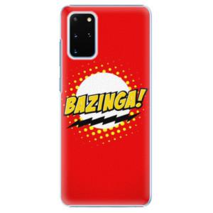 Plastové pouzdro iSaprio - Bazinga 01 na mobil Samsung Galaxy S20 Plus