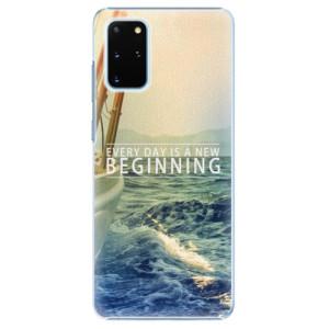 Plastové pouzdro iSaprio - Beginning na mobil Samsung Galaxy S20 Plus