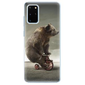 Plastové pouzdro iSaprio - Bear 01 na mobil Samsung Galaxy S20 Plus