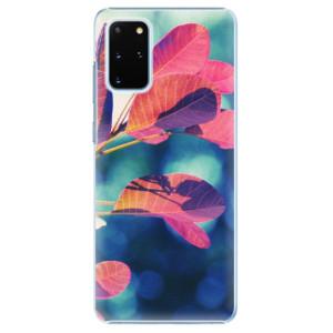 Plastové pouzdro iSaprio - Autumn 01 na mobil Samsung Galaxy S20 Plus