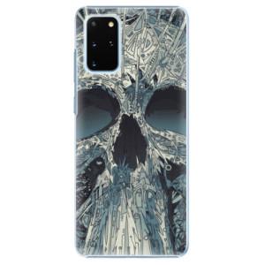 Plastové pouzdro iSaprio - Abstract Skull na mobil Samsung Galaxy S20 Plus