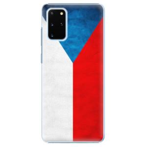 Plastové pouzdro iSaprio - Czech Flag na mobil Samsung Galaxy S20 Plus