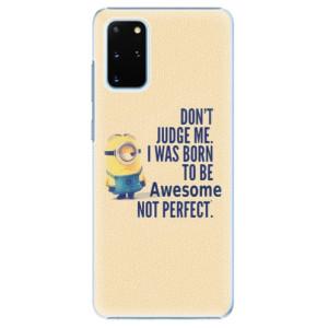 Plastové pouzdro iSaprio - Be Awesome na mobil Samsung Galaxy S20 Plus