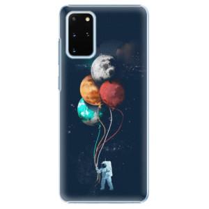 Plastové pouzdro iSaprio - Balloons 02 na mobil Samsung Galaxy S20 Plus