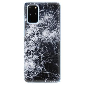 Plastové pouzdro iSaprio - Cracked na mobil Samsung Galaxy S20 Plus