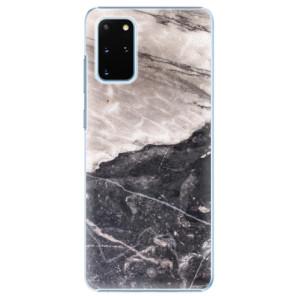 Plastové pouzdro iSaprio - BW Marble na mobil Samsung Galaxy S20 Plus
