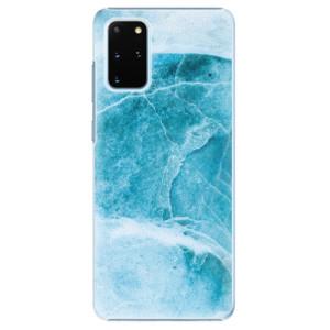 Plastové pouzdro iSaprio - Blue Marble na mobil Samsung Galaxy S20 Plus