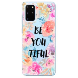 Plastové pouzdro iSaprio - BeYouTiful na mobil Samsung Galaxy S20 Plus