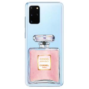 Plastové pouzdro iSaprio - Chanel Rose na mobil Samsung Galaxy S20 Plus