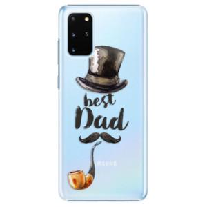 Plastové pouzdro iSaprio - Best Dad na mobil Samsung Galaxy S20 Plus