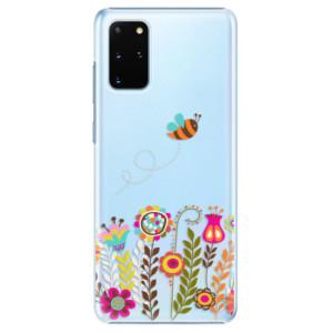 Plastové pouzdro iSaprio - Bee 01 na mobil Samsung Galaxy S20 Plus