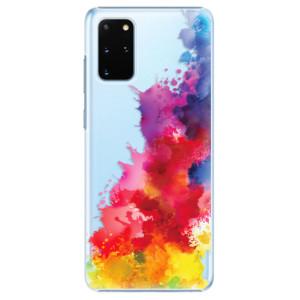 Plastové pouzdro iSaprio - Color Splash 01 na mobil Samsung Galaxy S20 Plus