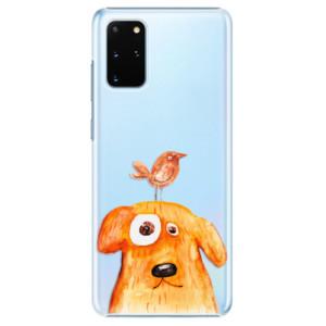 Plastové pouzdro iSaprio - Dog And Bird na mobil Samsung Galaxy S20 Plus