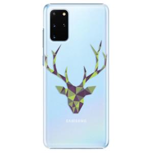 Plastové pouzdro iSaprio - Deer Green na mobil Samsung Galaxy S20 Plus