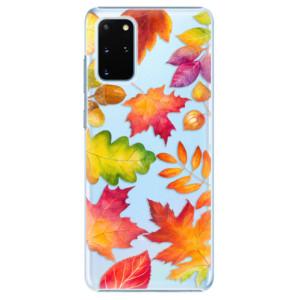 Plastové pouzdro iSaprio - Autumn Leaves 01 na mobil Samsung Galaxy S20 Plus
