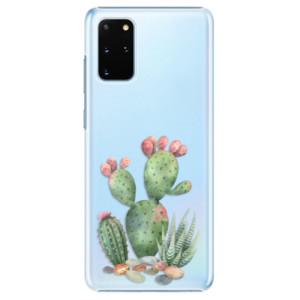 Plastové pouzdro iSaprio - Cacti 01 na mobil Samsung Galaxy S20 Plus