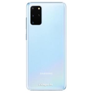 Plastové pouzdro iSaprio - 4Pure - mléčné bez potisku na mobil Samsung Galaxy S20 Plus