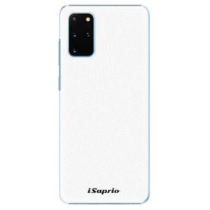 Plastové pouzdro iSaprio - 4Pure - bílé na mobil Samsung Galaxy S20 Plus
