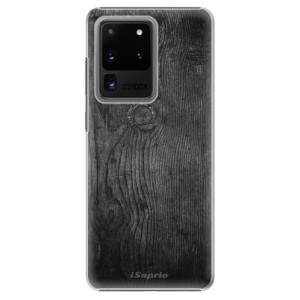 Plastové pouzdro iSaprio - Black Wood 13 na mobil Samsung Galaxy S20 Ultra