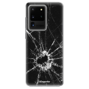 Plastové pouzdro iSaprio - Broken Glass 10 na mobil Samsung Galaxy S20 Ultra