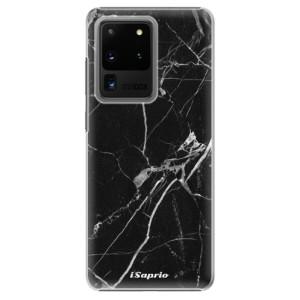 Plastové pouzdro iSaprio - Black Marble 18 na mobil Samsung Galaxy S20 Ultra