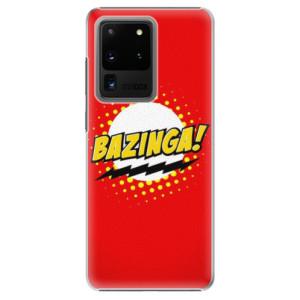 Plastové pouzdro iSaprio - Bazinga 01 na mobil Samsung Galaxy S20 Ultra