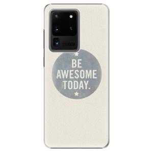 Plastové pouzdro iSaprio - Awesome 02 na mobil Samsung Galaxy S20 Ultra