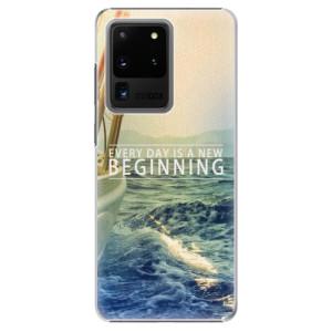 Plastové pouzdro iSaprio - Beginning na mobil Samsung Galaxy S20 Ultra