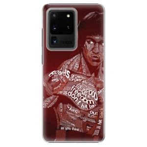Plastové pouzdro iSaprio - Bruce Lee na mobil Samsung Galaxy S20 Ultra