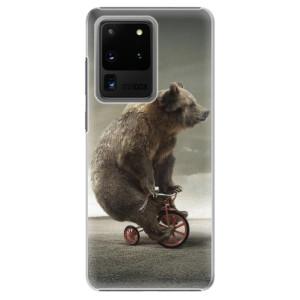 Plastové pouzdro iSaprio - Bear 01 na mobil Samsung Galaxy S20 Ultra