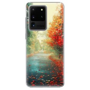 Plastové pouzdro iSaprio - Autumn 03 na mobil Samsung Galaxy S20 Ultra