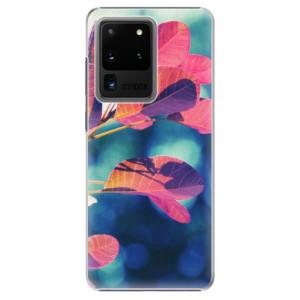 Plastové pouzdro iSaprio - Autumn 01 na mobil Samsung Galaxy S20 Ultra