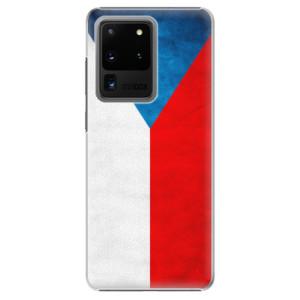 Plastové pouzdro iSaprio - Czech Flag na mobil Samsung Galaxy S20 Ultra
