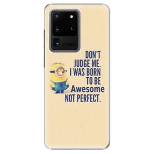 Plastové pouzdro iSaprio - Be Awesome na mobil Samsung Galaxy S20 Ultra