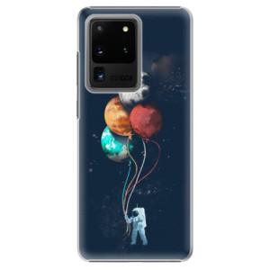 Plastové pouzdro iSaprio - Balloons 02 na mobil Samsung Galaxy S20 Ultra