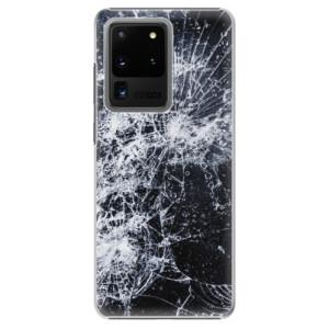 Plastové pouzdro iSaprio - Cracked na mobil Samsung Galaxy S20 Ultra