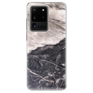 Plastové pouzdro iSaprio - BW Marble na mobil Samsung Galaxy S20 Ultra