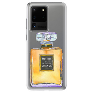 Plastové pouzdro iSaprio - Chanel Gold na mobil Samsung Galaxy S20 Ultra