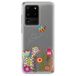 Plastové pouzdro iSaprio - Bee 01 na mobil Samsung Galaxy S20 Ultra