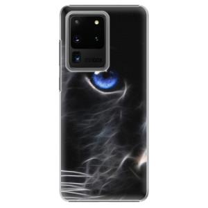 Plastové pouzdro iSaprio - Black Puma na mobil Samsung Galaxy S20 Ultra