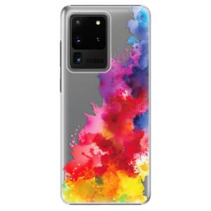 Plastové pouzdro iSaprio - Color Splash 01 na mobil Samsung Galaxy S20 Ultra