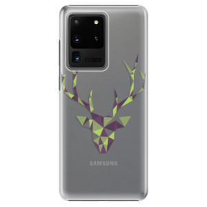 Plastové pouzdro iSaprio - Deer Green na mobil Samsung Galaxy S20 Ultra