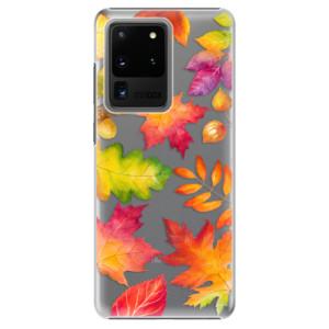 Plastové pouzdro iSaprio - Autumn Leaves 01 na mobil Samsung Galaxy S20 Ultra