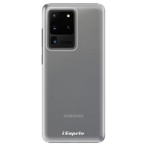 Plastové pouzdro iSaprio - 4Pure - mléčné bez potisku na mobil Samsung Galaxy S20 Ultra