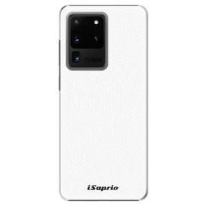 Plastové pouzdro iSaprio - 4Pure - bílé na mobil Samsung Galaxy S20 Ultra