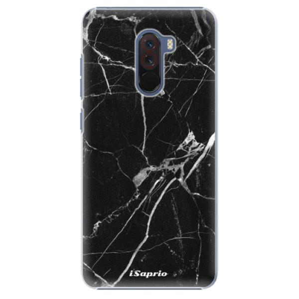 Plastové pouzdro iSaprio - Black Marble 18 - Xiaomi Pocophone F1